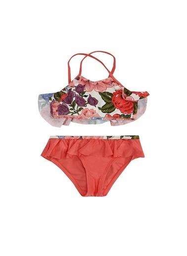 Zimmermann Zimmermann  Çiçekli Kız Çocuk Bikini Takımı 101600350 Renkli